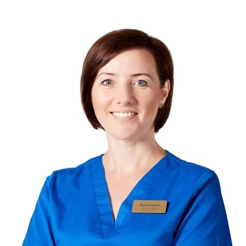 Maria Swędzioł, fizjoterapeuta, technik usług kosmetycznych, masażysta, podolog i ortopodolog