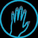 ikona przedstawiająca manicure