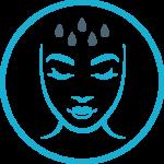 ikona nawilżenia i odświeżenia skóry