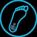 ikona pękających pięt