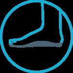 ikona indywidualnych wkładek ortopedycznych