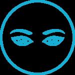 ikona zabiegów na oczy